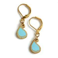 Tear Drop Dangle Earrings other from the clasp, love!