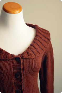 Never Not Knitting Blog - no pattern yet but I'll wait. I love the simple elegance of this cardigan.