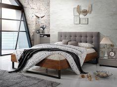 Pat Premium din lemn Tapitat cu Stofa Elise Grey #homedecor #interiordesign #inspiration #decor #house #bedroomdecor #bedroom Beach House, Bedroom, Grey, Decoration, Interior, Furniture, Home Decor, Design, Surplus