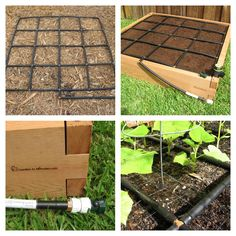 Make an Irrigation System and Square Foot Garden in less than 5 minutes from www.GardenInMinutes.com Step 1: Get yourself a Garden Grid™ Step 2: Lay your Garden Grid™ in your garden bed Step 3: Connect to your garden hose Step 4: Plant your plants and turn on the water, that's it! PS: no tools, cutting, nailing etc. required! (seriously, everything we make is tool free and made to be easy) Simple, smart, convenient Gardening Solutions.