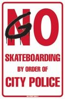 Go Skateboarding By Order Of City Police Aluminum Metal Poster Tin Sign Wall Decor - - Go Skateboarding By Order Of City Police Aluminum Metal Poster Tin Sign Wall Decor Terrain Graffiti Tin Signs, Wall Signs, Skateboard Room, Police Sign, Skater Kid, Nike Skateboarding, Skateboarding Quotes, Les Rides, Longboarding