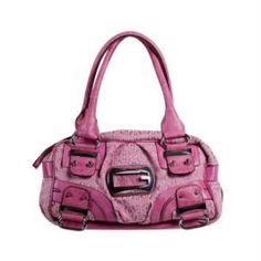 Guess SI270419/PIN Box Hand Bag-Pink