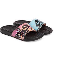 sale retailer 6b41c c65c3 Main Image - Nike  Benassi - Just Do It  Print Sandal (Women)