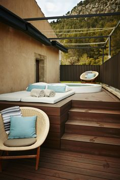 Junior Suite with private terrace and outdoor whirlpool at the hotel Son Brull in Pollensa, Mallorca - pure bliss and relaxation