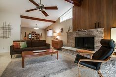 This 1956 mid-century modern Dallas time capsule house is full of appealing, original features, including terrazzo floors, a Jack 'n Jill bathroom and window wall.