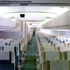 United DC-8-61 Cabin.