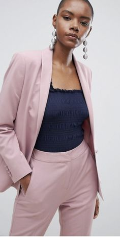 Shop ASOS DESIGN tailored forever blazer & trouser suit at ASOS. Trouser Suits, Trousers, Latest Trends, Asos, Blazer, Stuff To Buy, Outfits, Shopping, Design