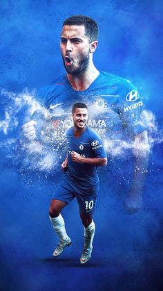 Android & iPhone Lock Screen HD Wallpaper for Football Lover Football Players Images, Best Football Players, Soccer Players, Chelsea Wallpapers, Chelsea Fc Wallpaper, Eden Hazard Wallpapers, Eden Hazard Chelsea, Sergio Aguero, Juventus Soccer