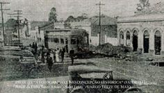 O primeiro bonde elétrico de São Paulo em 7 de maio de 1900, sendo depois ampliada as linhas de bondes para toda a Cidade de São Paulo,