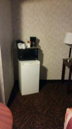 Corner fridge and microwave, Tropical Inn Hotel and Conference Centre  |  5621 44th Street, Lloy