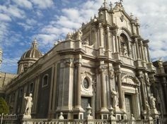 Cathedral in Catania, Sicily. #Europe #Mediterranean #Excursion Catania