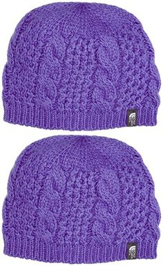 The North Face Cable Minna Beanie (Starry Purple)
