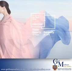For 2016, Pantone has selected not one but two colours of the year – Rose Quartz (Pantone colour ref 13-1520), which will no doubt have jewellery marketing execs jumping for joy, and the light blue shade of Serenity (Pantone colour ref 15-3919). Owner Gerhard specializes in the designing of handmade jewellery, the manufacturing of jewellery as well as any jewellery repairs you may need. For any queries please contact: gerhard@gmfinejewellery.co.za