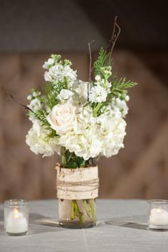 woodsy centerpiece ideas - Google Search