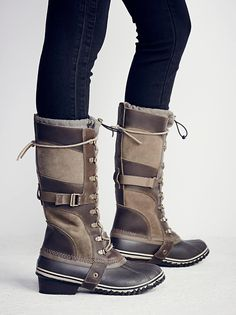 Sorel Slimpack Tall Weather Boot at Free People Clothing Boutique