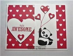 FS571 bensarmom by bensarmom - at Splitcoaststampers - 1/14/18.   (Pin#1: Animals: Wild-Far Lands...Asian-Chinese.  Pin+: Valentines: Hearts; Valentines: Stampin' UP).