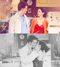 Monica and Chandler Serie Friends, Friends Tv Show, Just Friends, Monica And Chandler, Chandler Bing, The Poseidon Adventure, Best Sitcoms Ever, Mothers Friend, Clap Clap