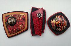 3 great pendants from Carrie Harvey based on Helen Breil's Magnetic Pendants Video tutorial  http://www.helenbreil.com/magnetic-promo.html