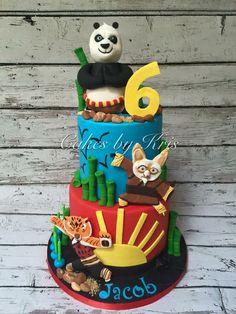 Kung Foo Panda birthday cake