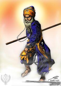 gatka___sikh_warriors_nihang_by_firozart-d3f93ft.jpg (752×1063)