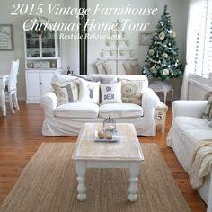Restyle Relove: 2015 Vintage Farmhouse Christmas Home Tour