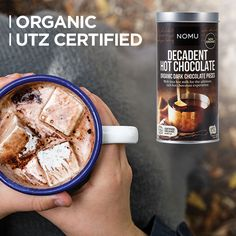 The best quality vegan Belgian chocolate for the best cup of Hot Chocolate!