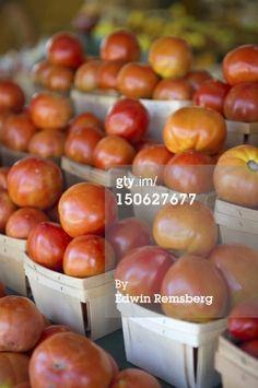 Stock Photo : Tomatoes