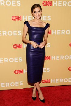Allison Williams in L'Wren Scott @ 2013 CNN Heroes at the American Museum of Natural History