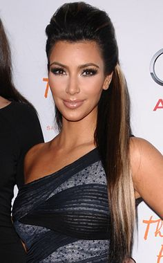 Kim Kardashian Gets Jerseyfied Stylenetwork Jerseylicious How To Curl Short Hair Short