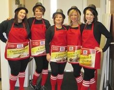 Spice Girls Punny Halloween Costume