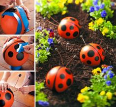 Bowling Ball Ladybugs Instructions Are So Easy | The WHOot