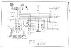 wirediagram jpg 750 552 wiring diagram yamaha pinterest diagram rh pinterest com Yamaha Enduro U Haul Wiring Harness Diagram