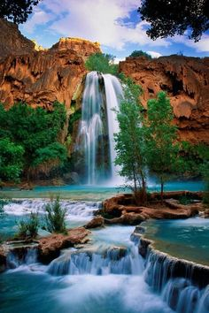 Havasu waterfall - Supai, Arizona