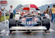 #12 Nigel Mansell...Team Essex Lotus...Lotus 81B...Motor Ford Cosworth DFV V8 3.0...GP Brasil 1981