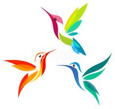 Anna's Hummingbird – Tattoo Pattern Animal Paintings, Animal Drawings, Art Drawings, Kunst Tattoos, Bird Silhouette, Silhouette Vector, Fabric Painting, Painting Canvas, Paint Designs