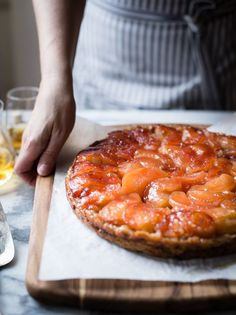 Pink Pearl Apple and Calvados Tarte Tatin