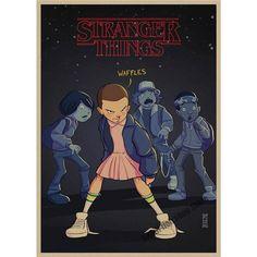 Stranger Things Retro Poster