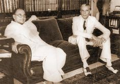 Jinnah with Subhash Chandra Bose Best Profile Pictures, Rare Pictures, Rare Photos, Rare Images, Historical Quotes, Historical Pictures, Zulfikar Ali Bhutto, Freedom Fighters Of India, Subhas Chandra Bose