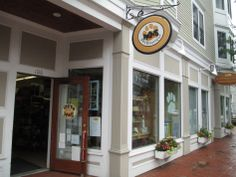 Exterior of Paws Pet Boutique on Main Street, Amesbury