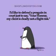 Some lawyer humor.
