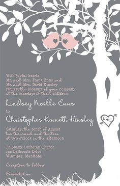 Custom+Listing+for+lindseyenns++Pink+and+gray+by+InvitingMoments