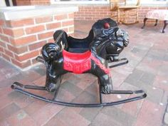 1950's riding horse toy - $65. Great Deal!!