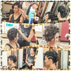 Our guest Laden is way to #Cool for your basic #blowout so here is Kathy's #Amazing #Edgey #RockChick #ShortHair #UpDo  As seen on the #FashionRunway in  #NewYork #Paris ( I am tempted to say #Peckham lol #onlyfoolsandhorses ) & #Milan @Moroccanoil #Stylescapes #Blowbar in #LagunaBeach #Blowdry  @KatharineStory #Fashion #Style #KatharineStory