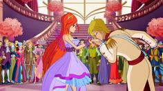 winx club bloom and sky | Winx Club 6x06 Bloom & Sky!!