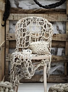 SeaArtExh-chair room 1 · little dandelion · Jacqui Fink