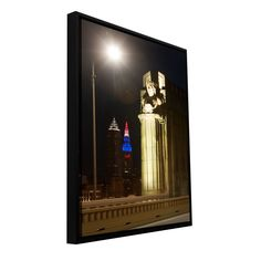 'Cleveland 6' by Cody York Framed Photographic Print on Wrapped Canvas