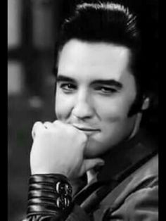 Elvis. What a smile...