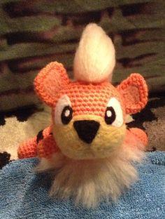 My Crocheted Growlithe
