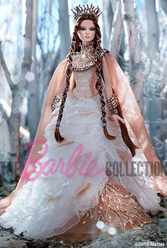 Barbie Collector Lady of the White Woods....