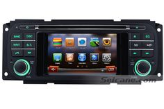 1999 2000 2001-2004 Jeep Grand Cherokee head unit Auto A/V DVD Radio GPS Navigation Bluetooth Music TV Tuner Steering Wheel Control Dual Zone IPOD AUX